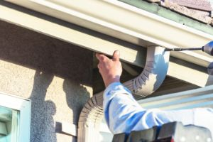 Gutter installation in Hilliard